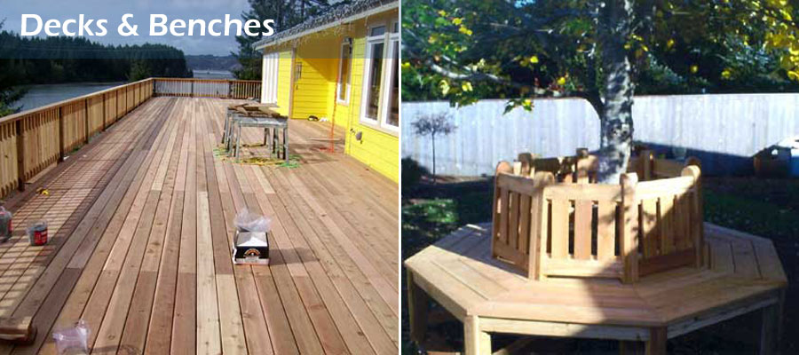 Decks and Benches
