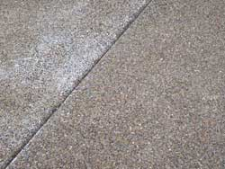 Closeup of Aggregate Concrete